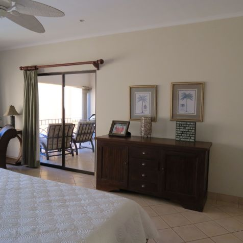 Master bedroom access to the terrace