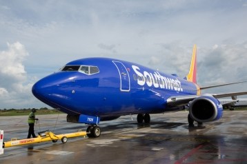 Southwest Airlines opens service in Liberia, Costa Rica. Stephen